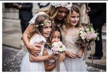 Bridesmaids, page boys and flower girls. / Photography inspiration for your bridal party.