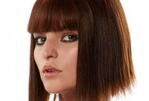 Bangs and fringes / Hair extensions, fashion bangs, fringes in high heat synthetic fibers and human hair