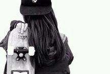 Girls on skate & BMX