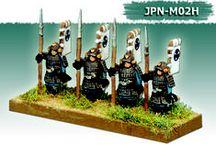 Castle Art's Miniatures  Samurai 10mm