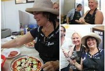 Pizza Cooking Class / #pizza #cooking class in #Tuscany #chianti #Italy #winery