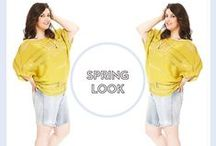 Spring is Here! / Fashion for Juicy Girls in Spring!
