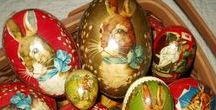 EASTER spirit, decorative eggs, Fabergé, Pâques, Pascuas... / Anything relative to Easter, religious, grettings, eggs, culture...