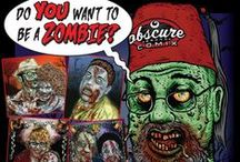 Custom Zombie Portraits / You wanna be a ZOMBIE? I'll make ya zombie! Send me a picture of you, a loved one or anyone you like and I will render you as one of the ever increasing zombie nation! You can order your own at http://etsy.me/28LPshM