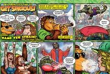 GET SERIOUS online comix / My online comic for SERIOUS MONKEY BIZZNESS about three pot smoking apes trying to make their way in the world. See the latest episode at http://smb-getserious.blogspot.com