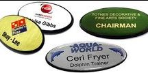 Oval Shaped Badges / Identify your organisation with our Oval name badges. A popular option amongst the hospitality and tourism organisations.