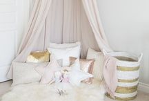 // girls room / Under the Monkey Bars inspiration for my daughters bedrooms and special spaces