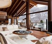 Fancy CABIN & CHALET interiors / Dreaming of the perfect weekend hideaway?