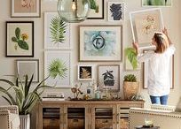 GALLERY WALL ideas / Get inspired by our collection of stunning gallery walls.