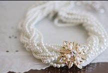 Jewelry / From traditional to trendy - great ways to add some sparkle, shine and shimmer to the already glowing bride. #engaged #wedding #planestry