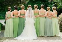 In Love with LIGHT GREEN / Light green is such a natural feeling color that also has a sense of fun and pop to it!  Perfect addition to a spring, outdoor or 'green' wedding color palette! #planestry #engaged #wedding