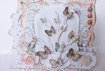A SELECTION OF SHABBY CHIC CARDS / CARD MAKING INSPIRATION / by EMILY MURRAY