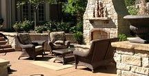 St. Louis Outdoor Fireplaces & Kitchens / Creating your outdoor entertainment space is easy when you call Poynter Landscape. Learn how we can transform your boring outdoor space into your dream outdoor kitchen or fireplace.