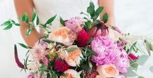 Bouquets / Bouquets of all shapes, sizes and colors.