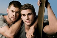 Hemsworth Brothers ❤️ / I LOVE Liam and Chris Hemsworth! Please follow my board if you do tooo❤️ / by Brooke