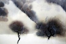 Inspirational watercolour / Here I pin exeptional watercolour works