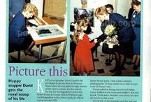 Princess Diana in Peterborough / Royal Visit to Peterborough