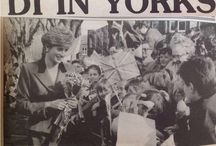 19 MARCH 1991 PRINCESS DIANA IN YORKS!  Opens new £6M headquarters of Ackrill Newspapers / Royal visit to Harrogate; also opens new Magistrate Court chambers in Harrogate.