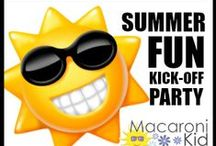 Summer Fun! / It's time!  Less than two weeks and the kiddos will be out of school.  Let's get prepared for Summer Fun with #MKSummerFun Party at Timbuk Toys in Lakewood 5/17.  #Spon / by Lakewood/Littleton Mac Kid