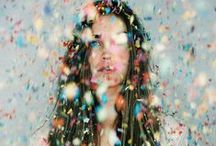 Rain is just confetti from the sky / Konfetti, Glitzer, Farben - Alles, was Spaß macht! // funfetti, colors, fun, joy, happiness