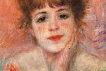 August Renoir- portrét.figurální