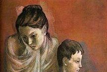 Picasso - portrét