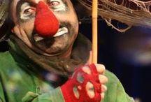 klauni,pantomima, cirkus