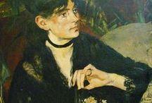 Manet Eduard - portrét, zátiší