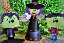 DIY Halloween! / With #FREE Printables from Brother Creative Center, you can make your own home Halloween ready without getting in the car! (Sponsored) / by Lakewood/Littleton Mac Kid