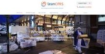 Wholesale/Trade Websites / Serve all your trade and wholesale customers through a single effective website.Websites created to help your business customers quickly login and place their orders built using LeanCMS - http://www.leancms.co.uk