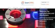 LeanCMS website design platform / Websites for manufacturers and distributors. Optimised and responsive for outstanding b2b website performance - http://www.leancms.co.uk/