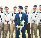 How to Dress Your Groomsmen for a Vintage Wedding / ...Dressing Style of your groomsmen in a Vintage Wedding...