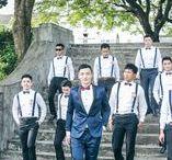 11 Groomsmen Suspender Looks for Your Groomsmen / 11 gorgeous looks for your groomsmen
