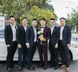 Mis-Matching Groomsmen Styles: Yes or No? / Try Mis-Matching Groomsmen Styles