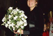 12 December 1991: Princess Diana attends a Carol Service at St. George's Hanover Sq. London