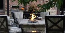 Warm Up Your Backyard / At Poynter Landscape Architecture & Construction we can help you to create your ultimate outdoor living room by adding a fireplace or fire pit. Whether you are looking for a traditional wood burning fireplace or a gas burning fire pit, we will help you escalate your outdoor living experience. There are a number of different styles to choose from as well as any number of add-ons that can be designed, give us a call today to get your design process underway!