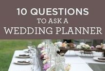 Wedding Planning / Tips, Tricks, Lists, and everything else you need to know about Weddings.
