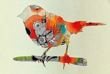 Birds / Birds in art, photography of birds, design