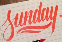 type. / fonts and lettering that tickle my fancy.