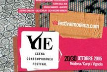 VIE Scena Contemporanea Festival 2005 / Spettacoli e artisti ospiti di VIE Scena Contemporanea Festival 2005. Performances and artists at VIE Festival 2005. #Theatre #Dance #Music #Film http://www.viefestivalmodena.com/vie2005/