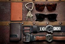 MĘSKIE DODATKI / Dodatki - okulary, sygnety, paski, bransolety i nietylko