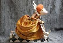 Елизавета Английская  и Тюдоры в куклах