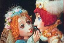 КУКОЛЬНЫЙ ТЕАТР / о ткуклах в кукольных спектаклях.