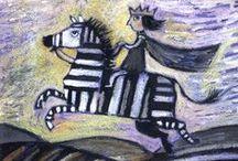 Даша Герасимова / художник и поэт. Очень хороший художник!