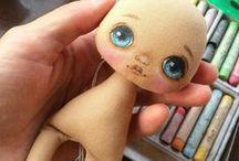 шитье текстильных кукол, технологии