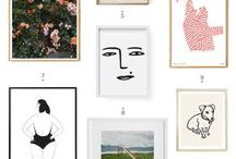 art. / art, posters, thing to decorate with.
