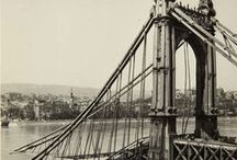Vintage pictures of Budapest