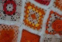 Crocheting / Cre- Active & playing with colors