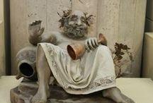 Древние греки и Рим / куклы скульптура и вообще нужное...