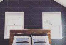 Inspiration - Papier peint Ferm LIVING / Découvrez les papiers peints de la marque danoise : ferm LIVING !
